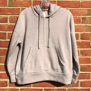 Free People Movement Grey Work It Out Hoodie
